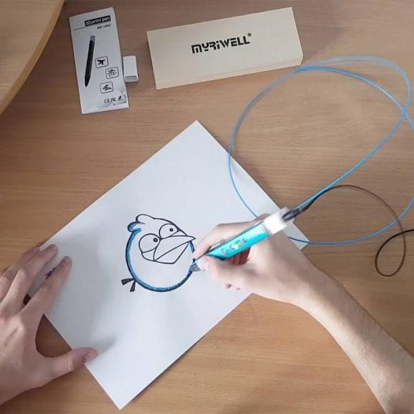 الگوی قلم سه بعدی مای ریول