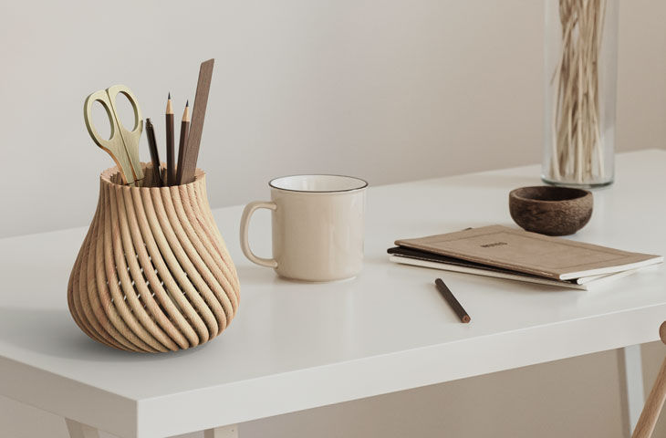 متریال چوب در صنعت چاپ سه بعدی - مستر فیلامنت - 2