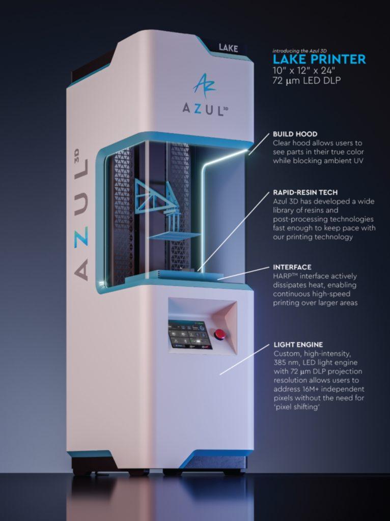 اولین پرینتر سه بعدی با مقیاس بزرگ توسط Azul 3D - فیلانیوز - 2