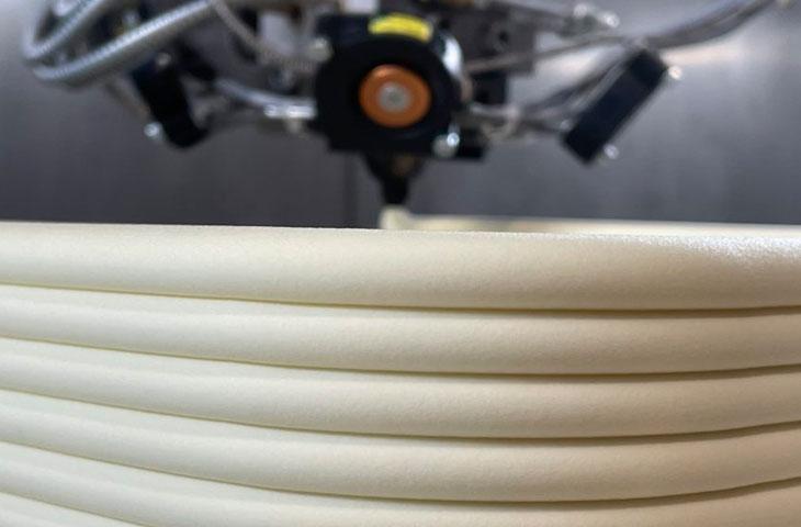 پرینت سه بعدی با متریال فوم - فیلانیوز -1