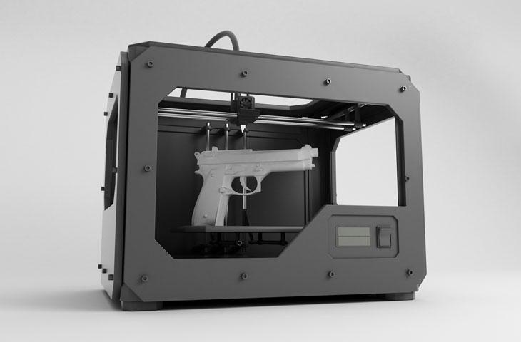 تفنگ ساخته شده با پرینتر سه بعدی - فیلانیوز - 2