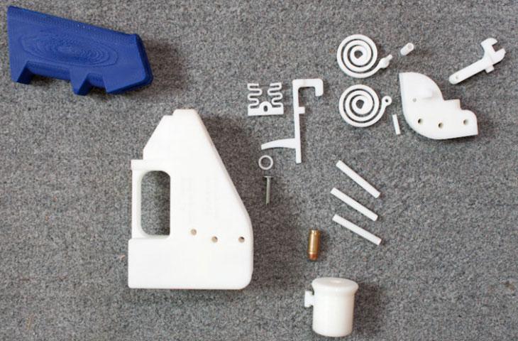 تفنگ ساخته شده با پرینتر سه بعدی - فیلانیوز - 3